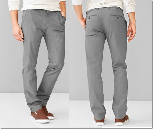 The textured pant
