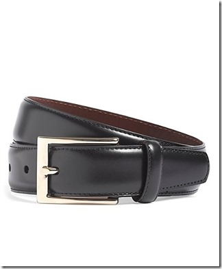 Brooks Brothers Leather Dress Belt 854C